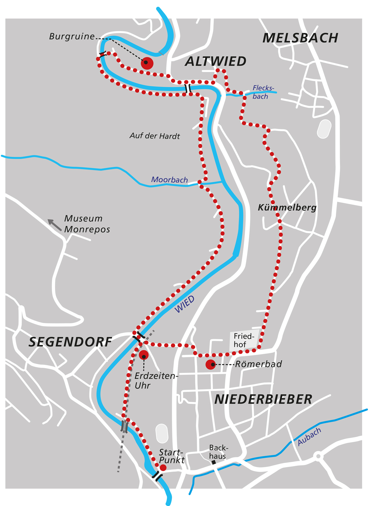 Wanderwege Niederbieber