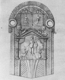 Merkur-Relief aus Niederbieber
