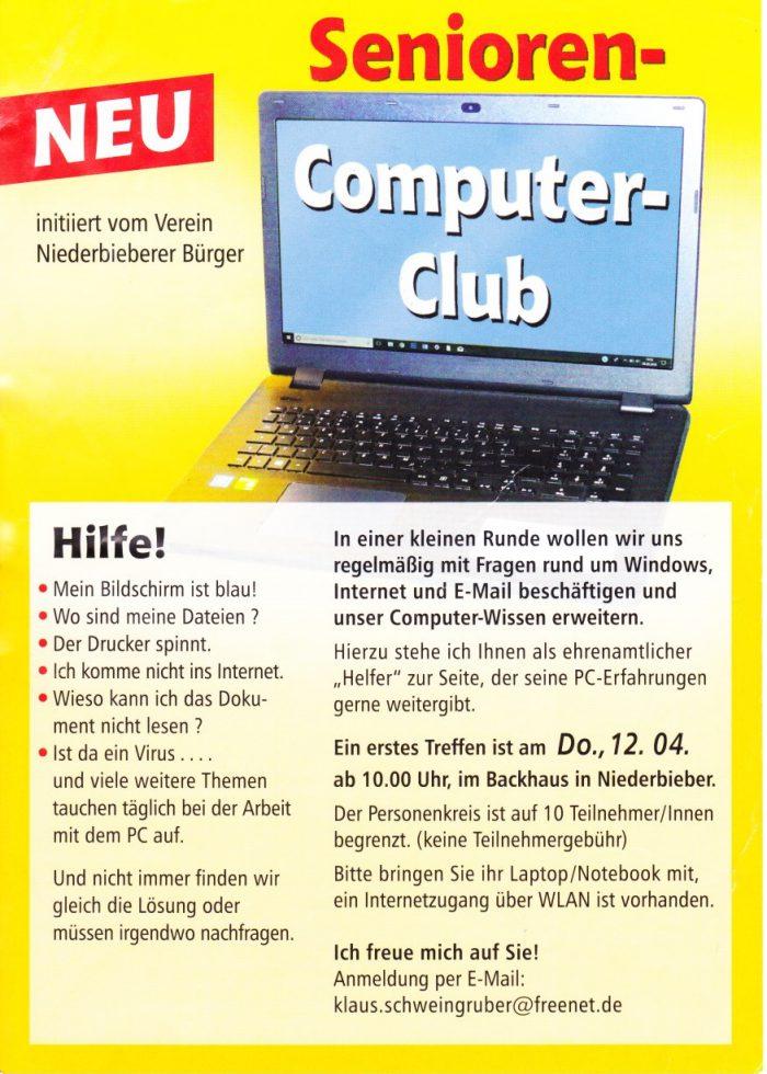 Senioren Computer Club